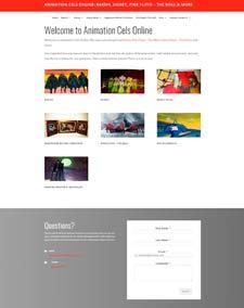Animation Cels Online Website