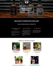 Pinkerton's Distillery Website